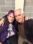 Kaye with Dr Ian Dunbar
